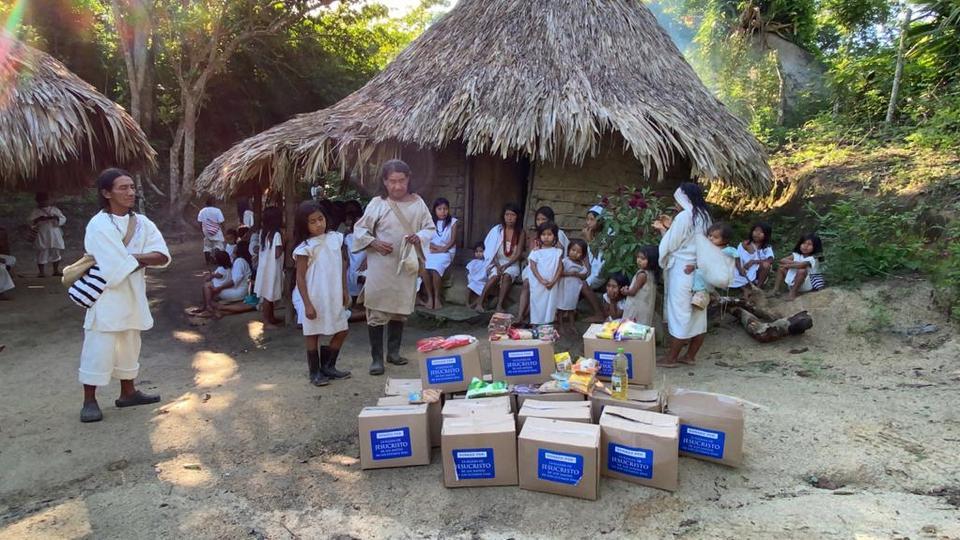 comunidades indígenas Kogui