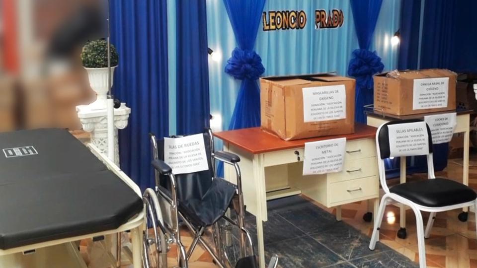 La Iglesia de Jesucristo en Perú donación