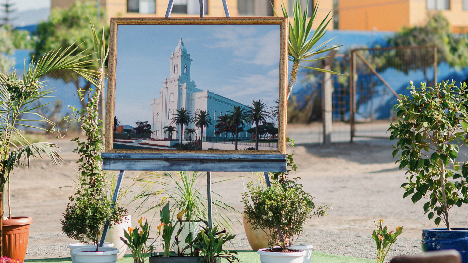 Palada inicial Templo de Antofagasta, Chile