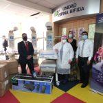 donación cunas térmicas