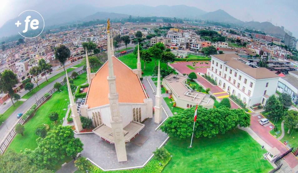 Se reaperturan los tres templos en Perú para la Fase 1