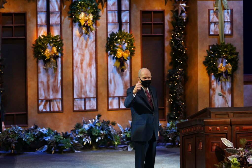 Presidente Nelson - devocional de Navidad