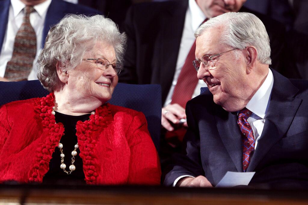 presidente Ballard matrimonio