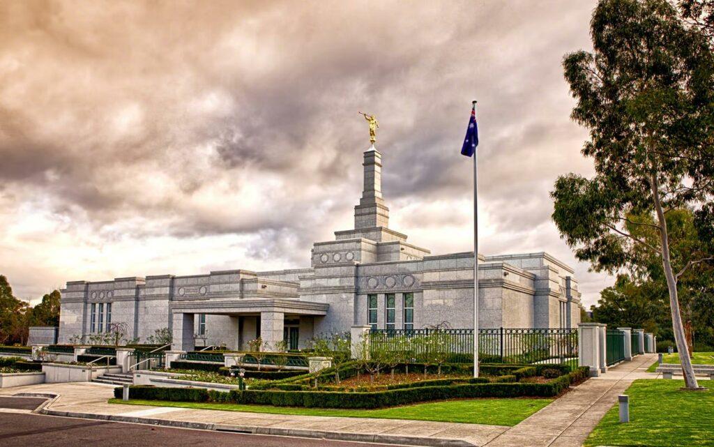 Templo de Melbourme Australia