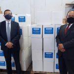 donación de alimentos al Gobierno de Ecuador