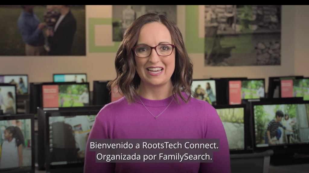 video de RootsTech en español