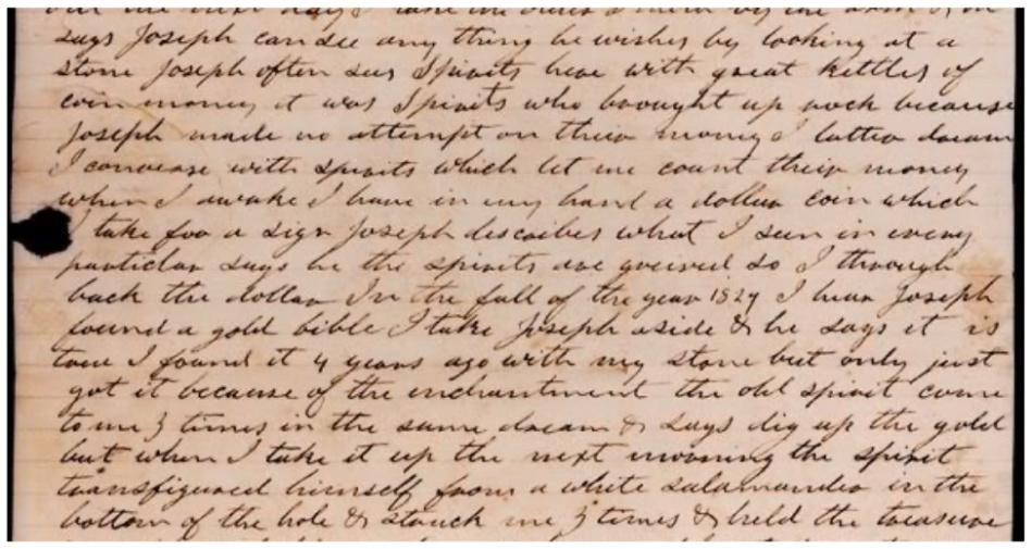 carta de la salamandra