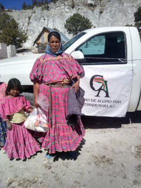 donación a familias indígenas