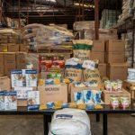 donación de alimentos a la Iglesia de Jesucristo