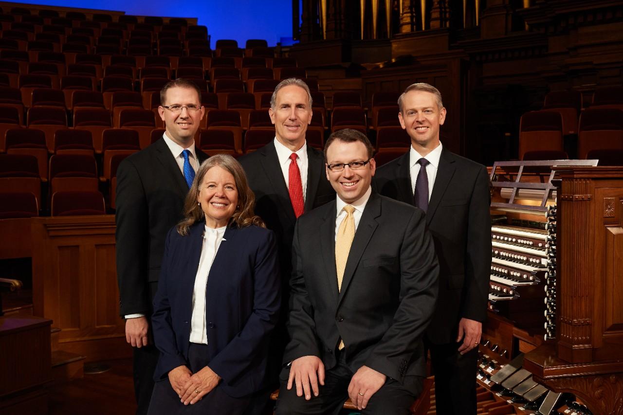organistas coro del tabernáculo