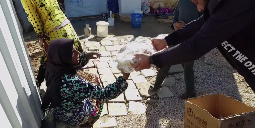Refugiados en Siria - ayuda la Iglesia de Jesucristo