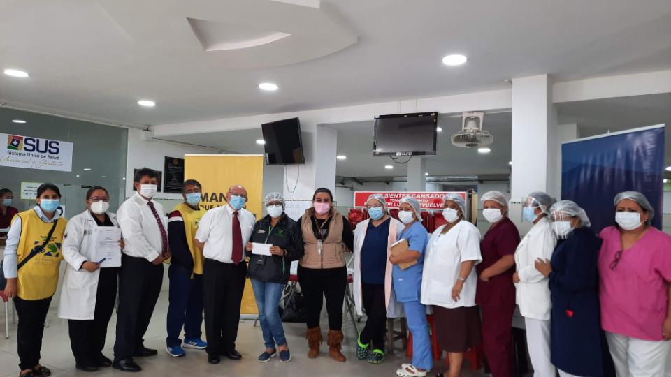 La Iglesia de Jesucristo - donación en Bolivia