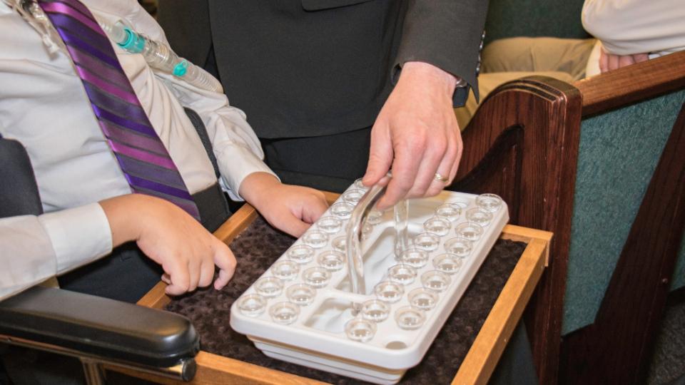 Personas con discapacidad en la Iglesia de Jesucristo
