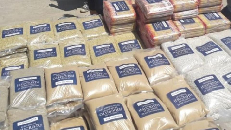 donación de alimentos a ollas comunes