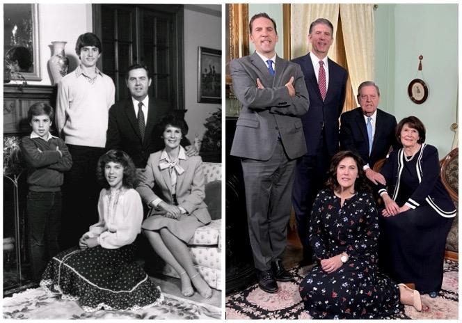 élder Holland y su familia