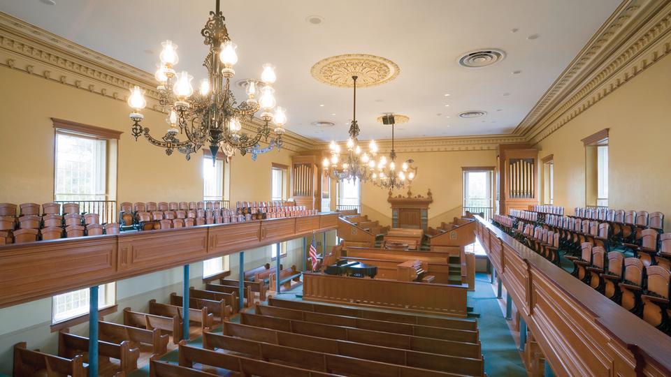 sitios históricos de la Iglesia
