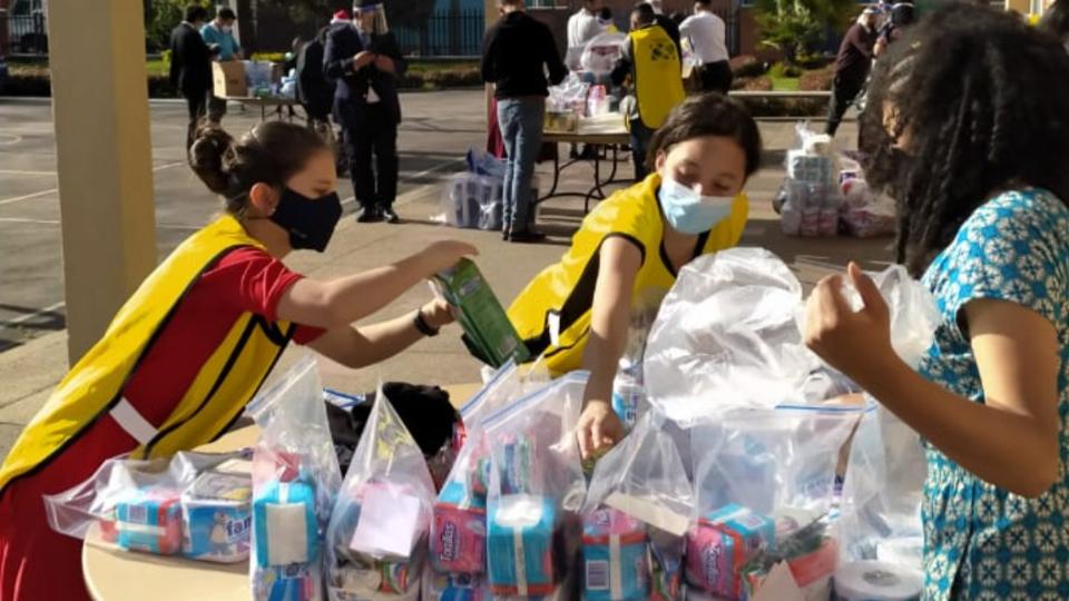 ayuda a los damnificados en Colombia