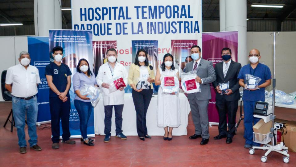 donación de equipos médicos