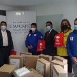 donación mascarillas - Cruz Roja