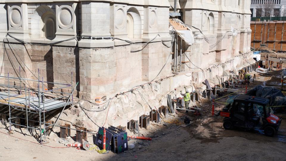 tunel del Templo de Salt Lake