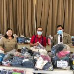 Donación de ropa para emigrantes en México