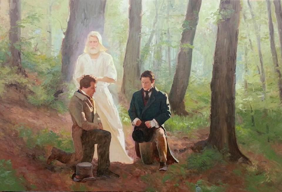 Juan el bautista José Smith