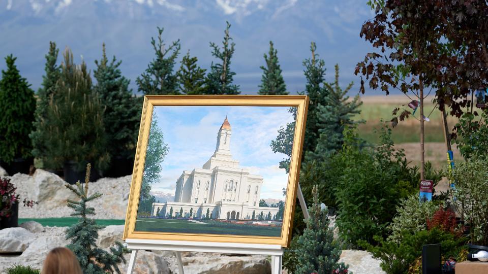 Palada Inicial del Templo de Deseret Peak