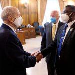 Reunión del presidente Nelson con líderes de Sudán