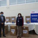 donación de concentradores de oxígenos a MINSA