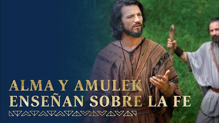 Alma y Amulek