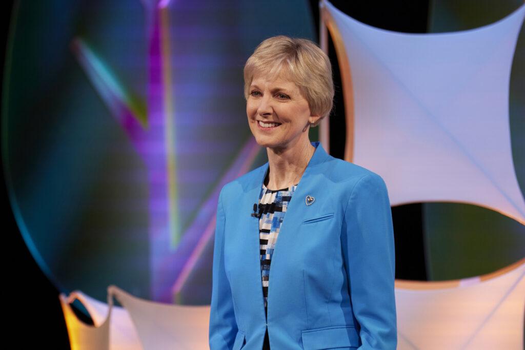 Jean B. Bingham - presidenta de la Sociedad de Socorro