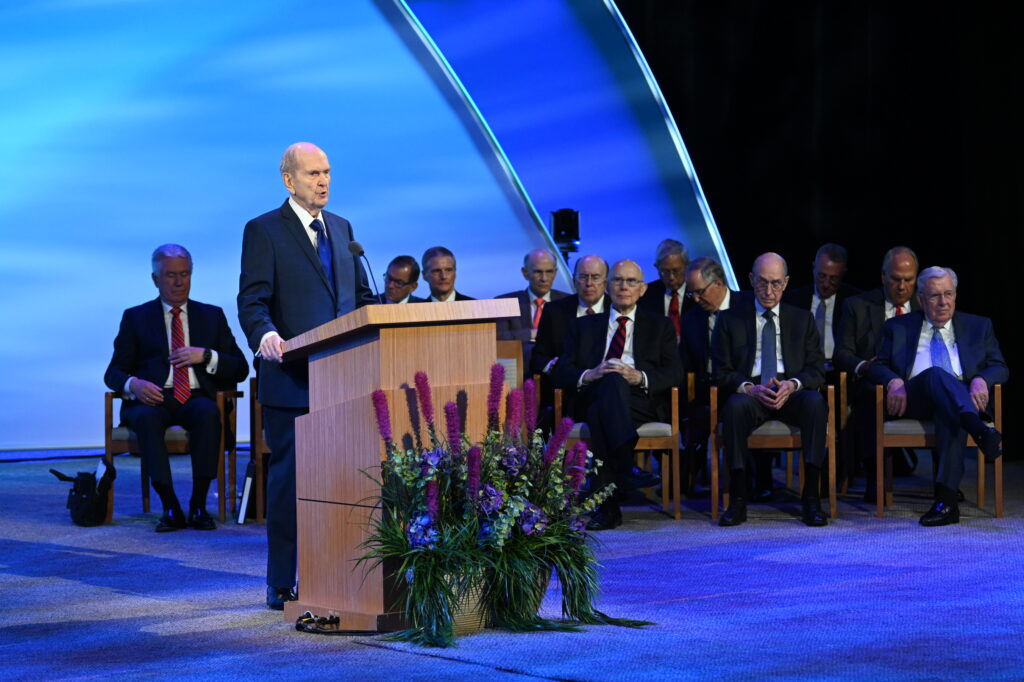 presidente Nelson a los nuevos presidentes de Misión