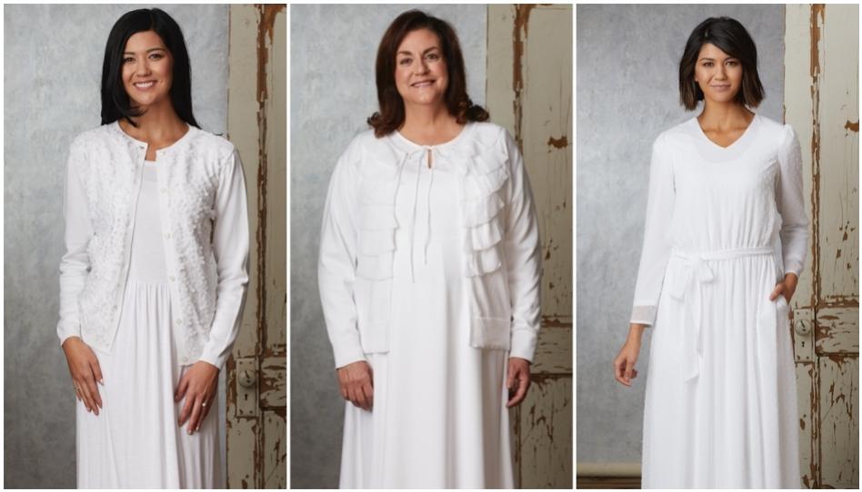 vestidos para el templo