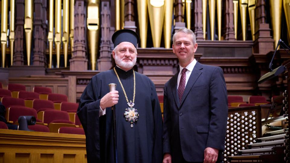 Arquidiócesis greco-ortodoxa de América e Iglesia de Jesucristo