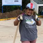 Jovencita construyó clínica de salud en Guatemala