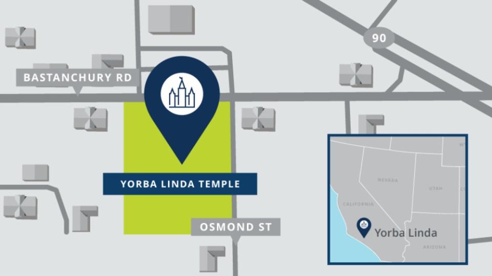 Templo de Yorba Linda California