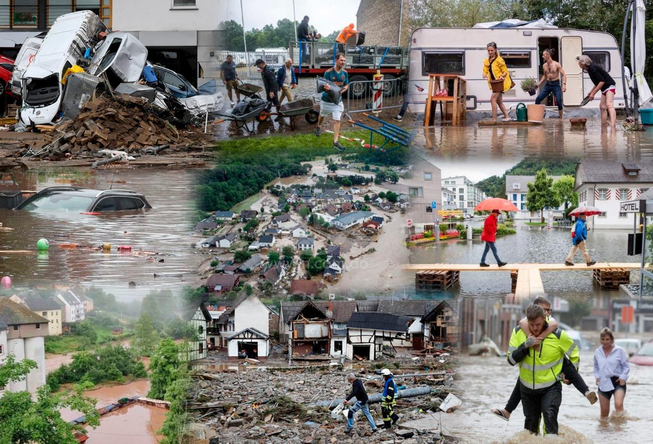 inundaciones en Europa