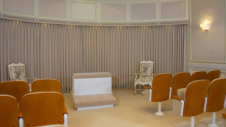 Interior el Templo de Madrid