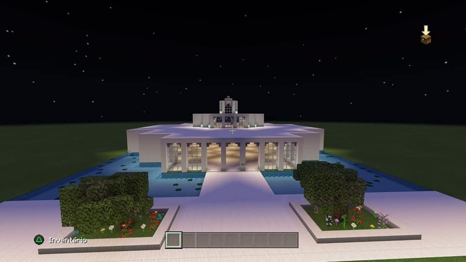 Templo en Minecraft