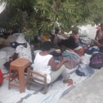 refugio terremoto en Haití