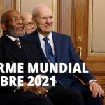 Informe mundial de la Iglesia de Jesucristo octubre 2021