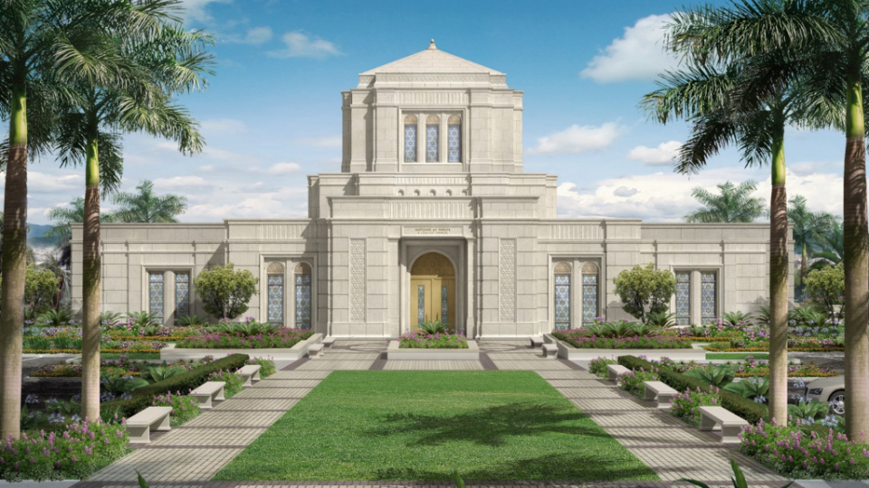 Templo de Belo Horizonte Brasil