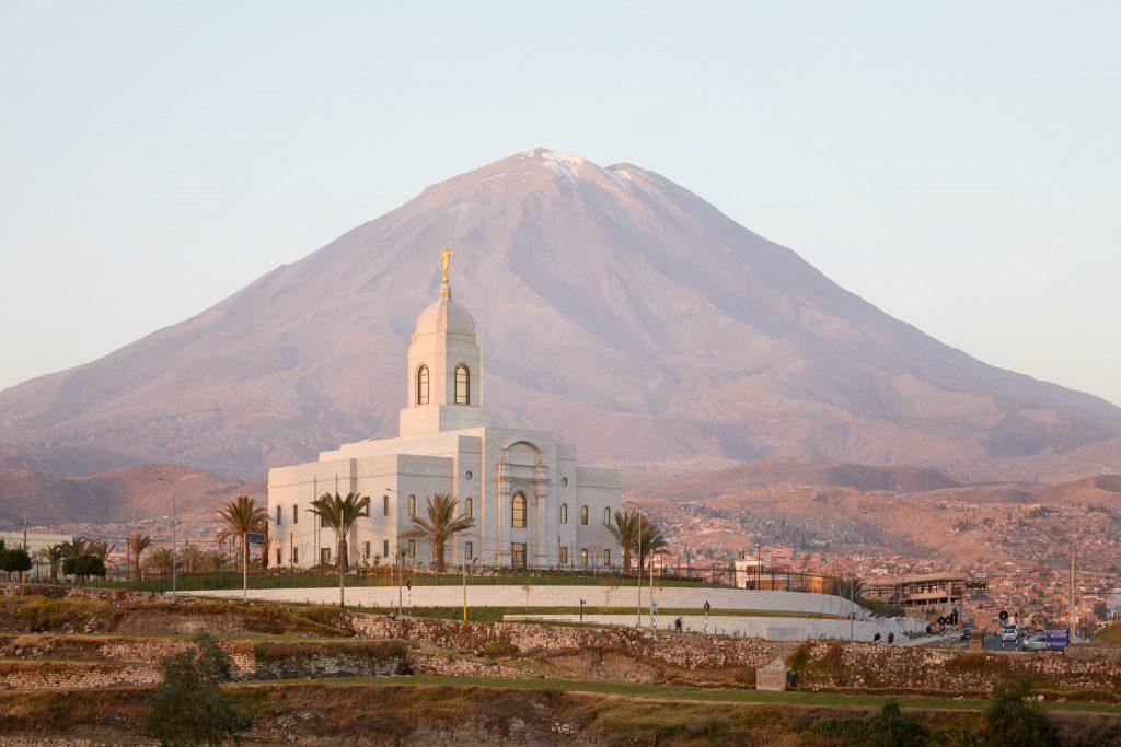 Templos en Sudamérica