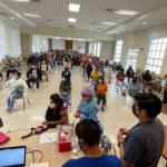 Vacunación en la Iglesia de Jesucristo en Ecuador