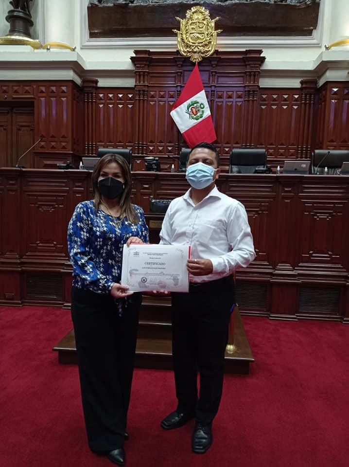 Luis Ruiz Ahumada - congreso del Perú