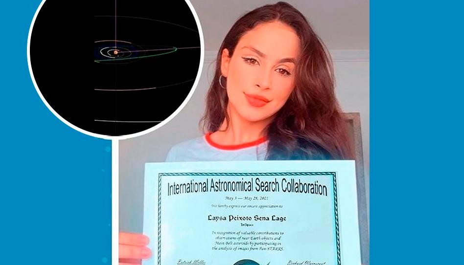 Joven Santo de los Últimos Días descubre un asteroide y es reconocida por la NASA